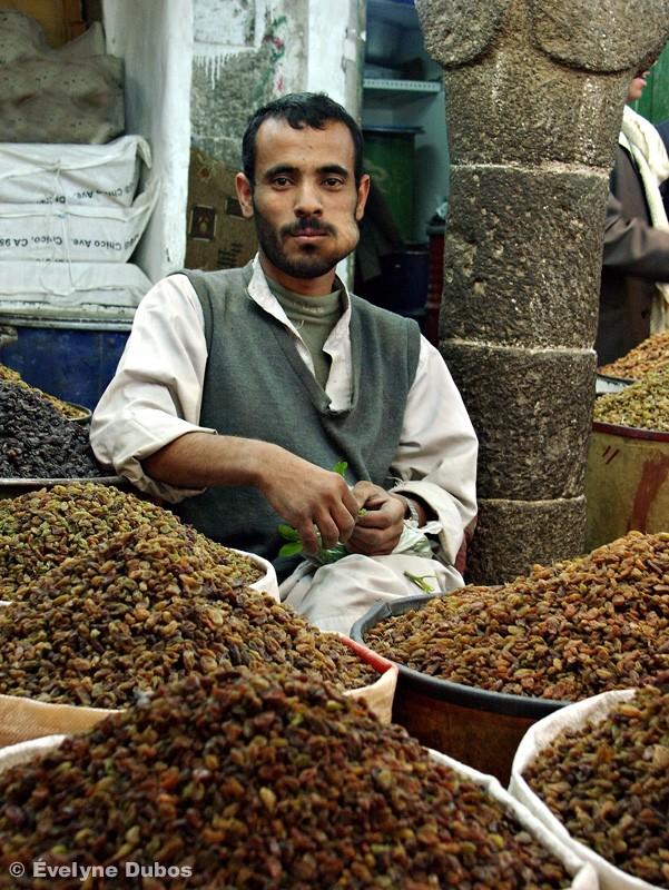 Marché  Yemen