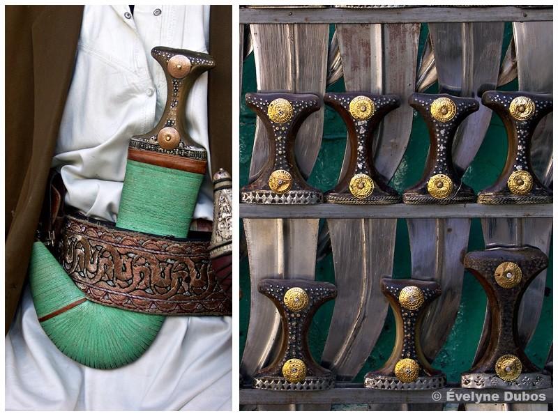 La Djambia : poignard traditionnel (Yémen)