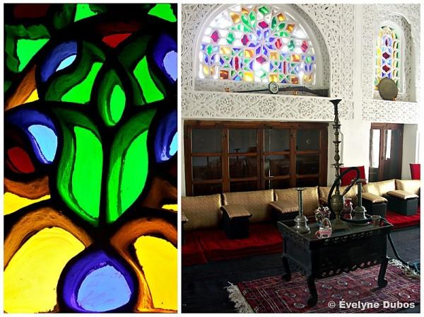 Le Mafrij : pièce principale de la maison Yéménite