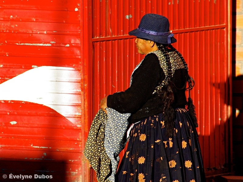 Le rouge et le noir (Bolivia)