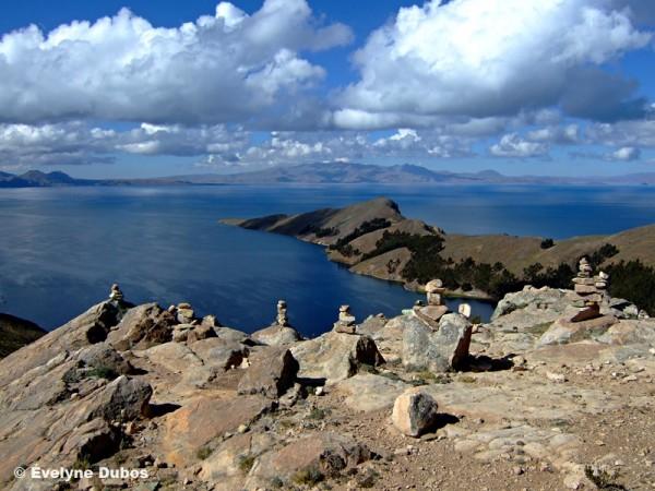 "Trekking on ""Isla del Sol"" (Titicaca-Bolivia)"