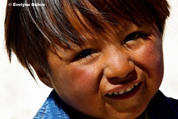 Bolivian chubby little cherub.