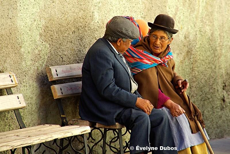 Dialogue.  (Bolivia)