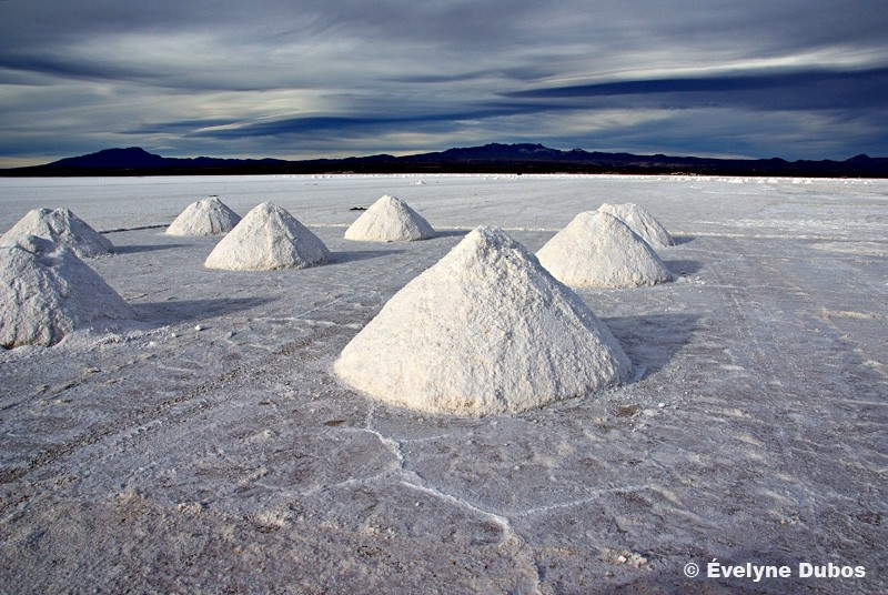 Piles, piles and... more piles  -Uyuni- Bolivia -