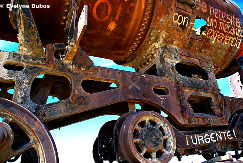 Trains graveyard (4) - Uyuni - Bolivia -