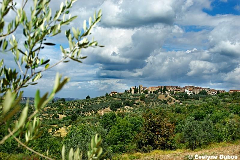 The village  -Tuscany-