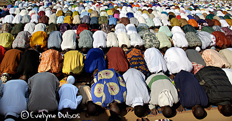 It's time for prayers. (Burkina Faso)