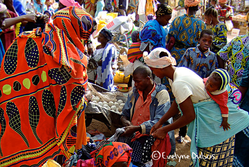 Back to Burkina, country of colors, in 3 days...