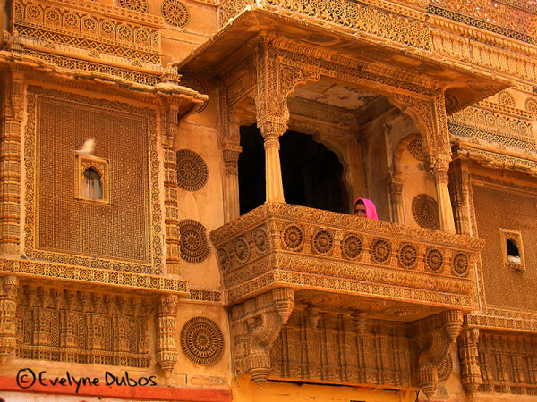 Indian lace. (Jaisalmer)