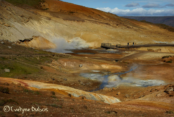 Iceland, country of fire...