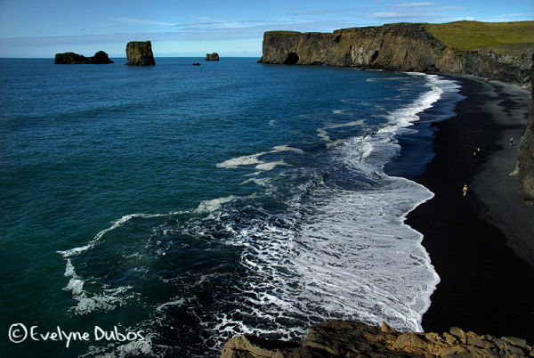 Dyrholaey cliffs  - Southern point of Iceland-