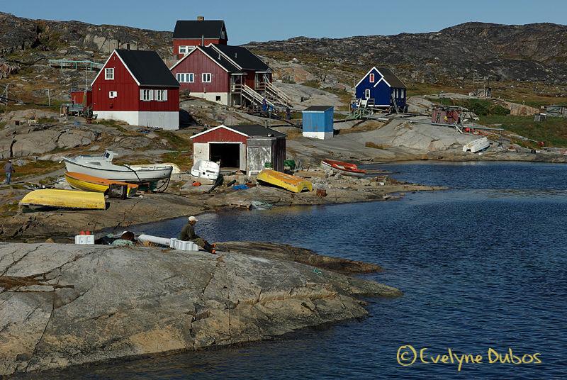 Le repos du pêcheur  -Groenland-