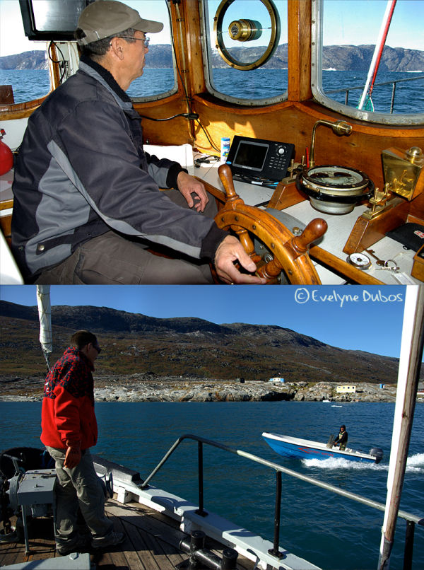 Captain & ship's boy  - Greenland -
