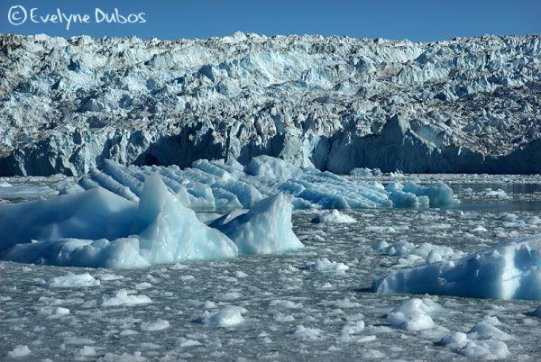 The glacier... closer  - Greenland -