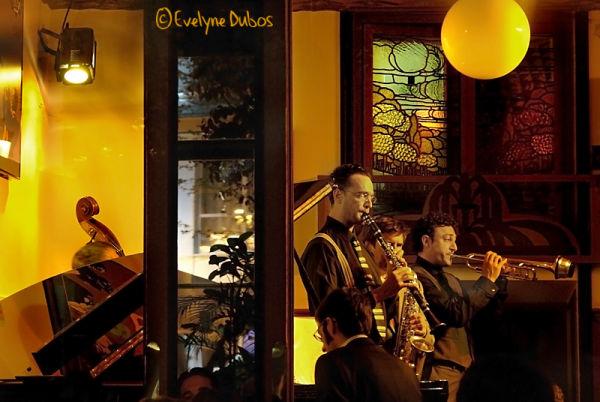 La boite de jazz.  (Madrid)