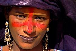 Couleurs touarègues. (Niger)
