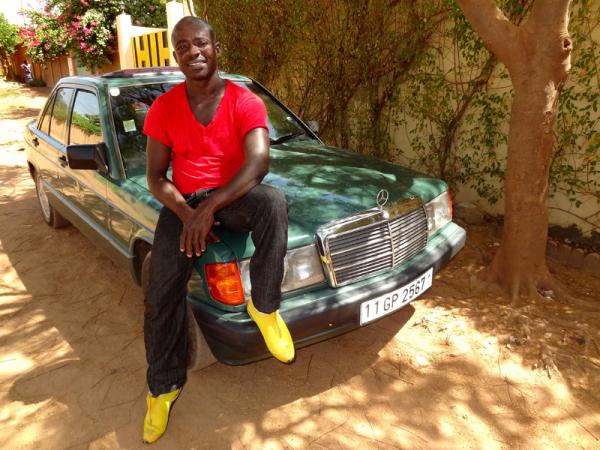 ABOU, notre ami et taximan - friend and taximan