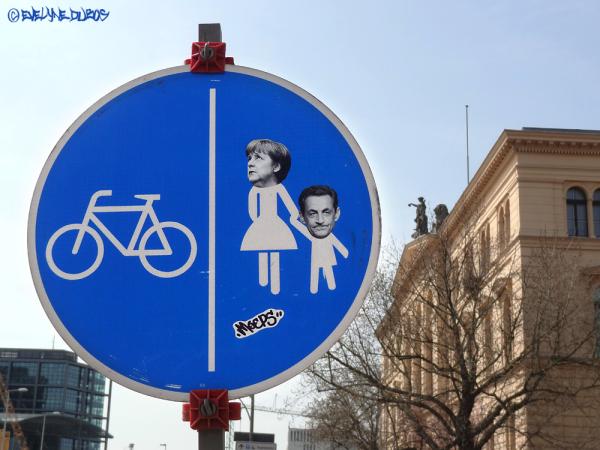 Z'ont de l'humour les Berlinois...