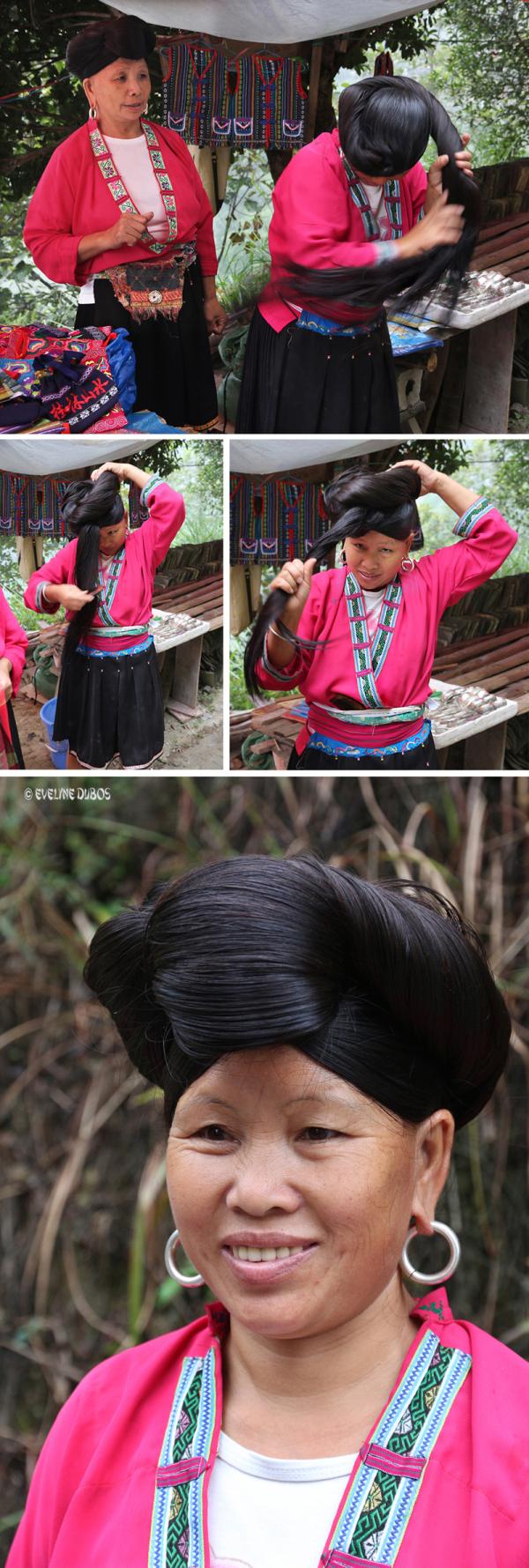Femme YAO aux longs cheveux - 2/2 -