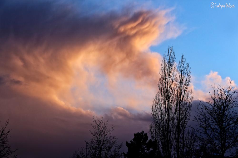 Ciel de tempête.