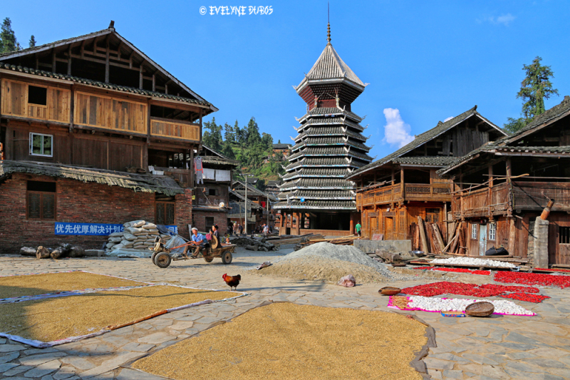 La vie au village (Chine)