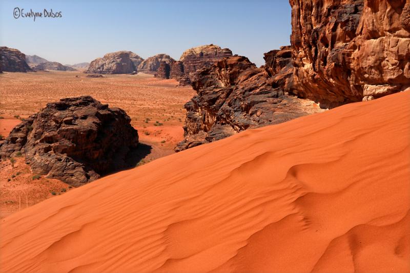 Les dunes rouges.