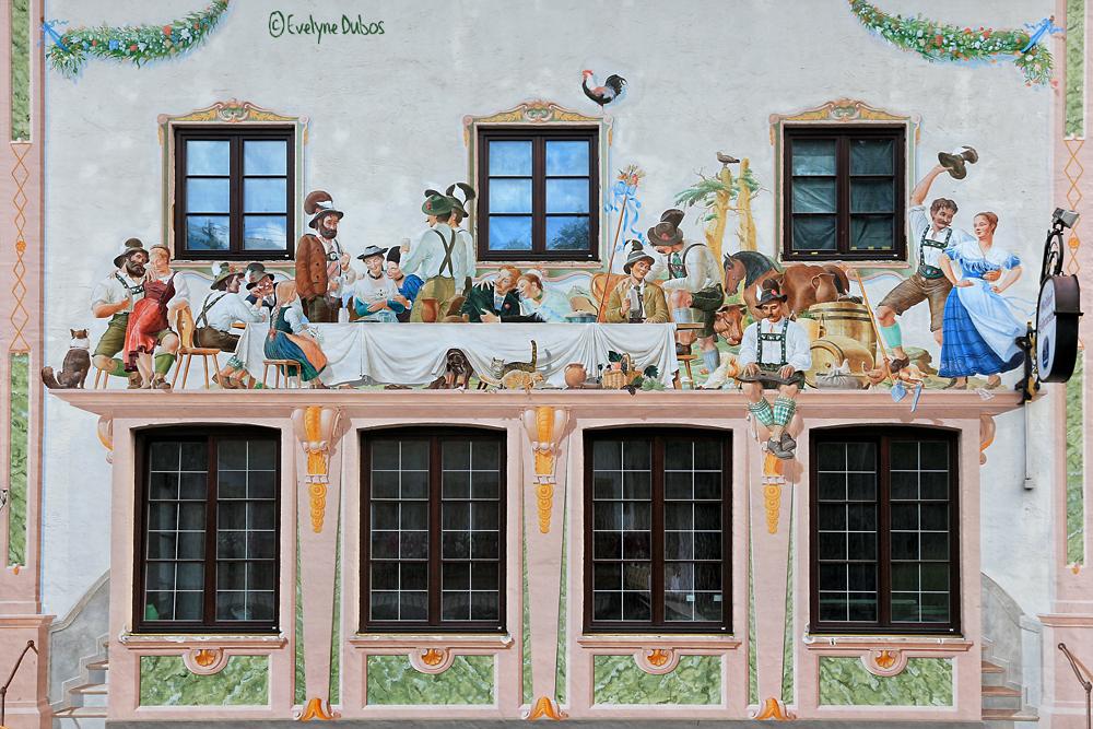Façades bavaroises (1) : les festivités.