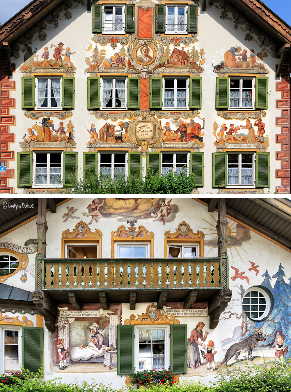 Façades bavaroises (2) : les contes.