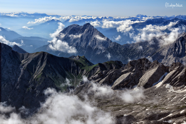 Zugspitze : une vue à 360° (1)