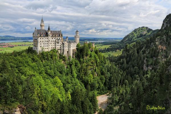 Un château de conte de fée !