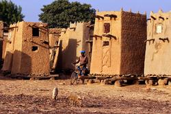 Greniers des villages Marka.