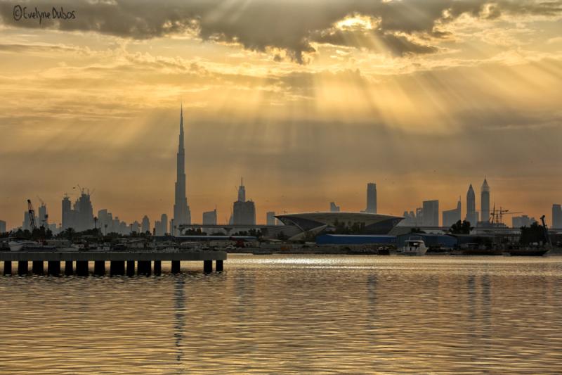 Sa Majesté Burj Khalifa.