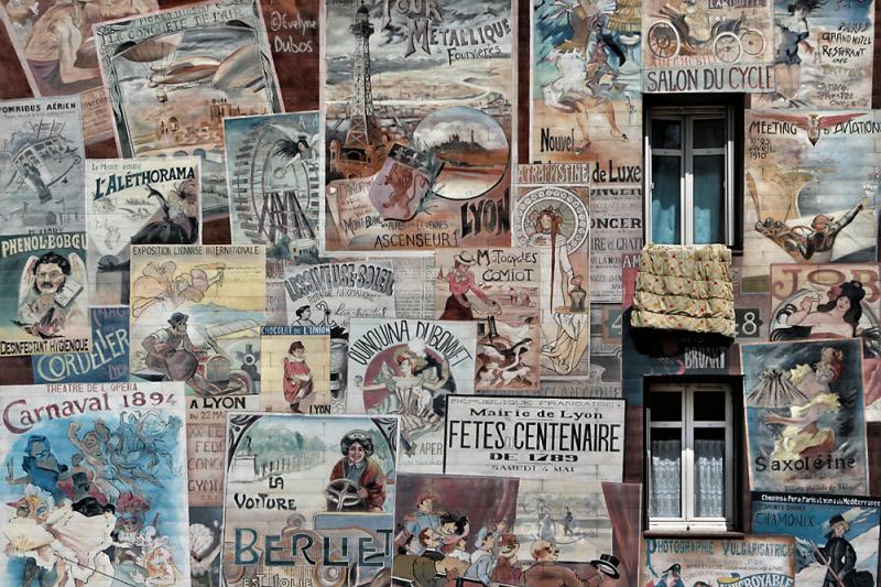 Lyon et ses fresques  2