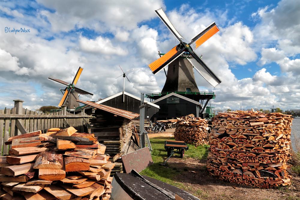 Le moulin-scierie.
