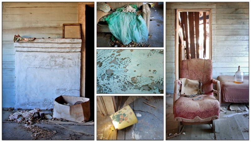 Abandoned House Collage