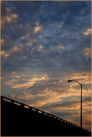 Streetlight & Clouds