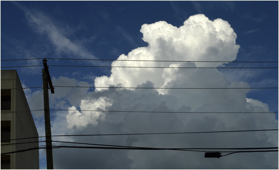 Clouds & Power Lines