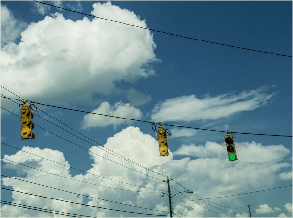 Clouds and Powerlines