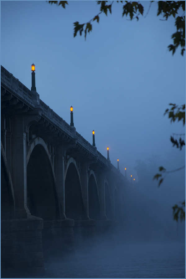 Gervais St Bridge from the West Columbia Riverwalk