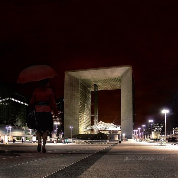 La Grande Arche, La Défense, Paris, France