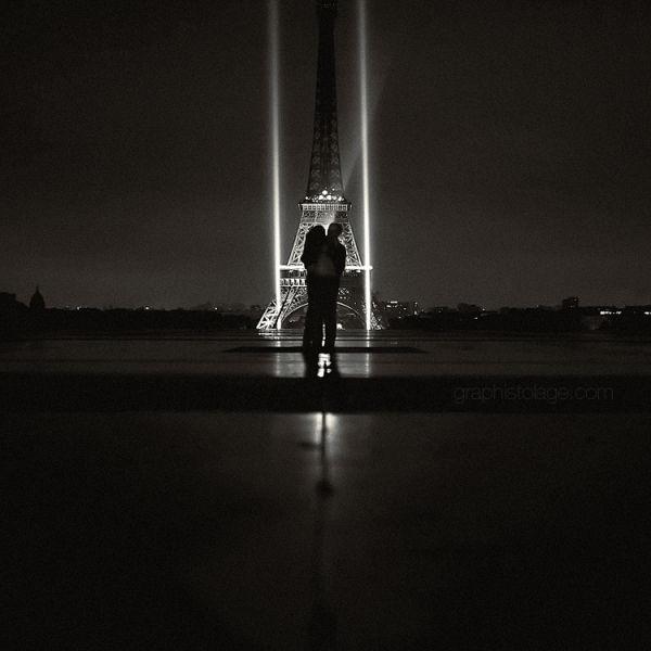 Lights of Paris - Trocadéro, Tour Eiffel