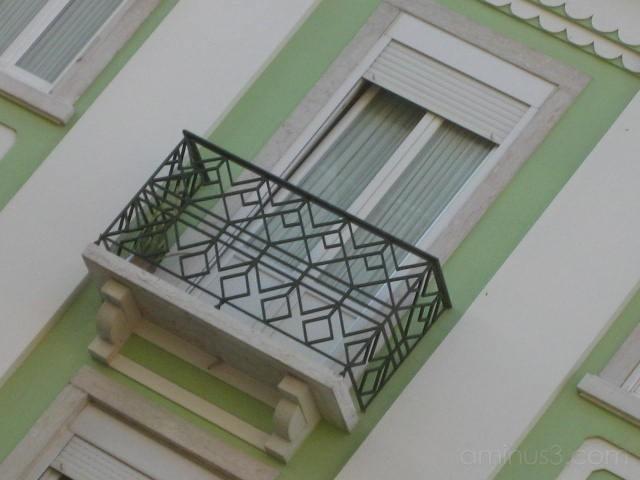 cast iron balconies in Lisbon (varandas)