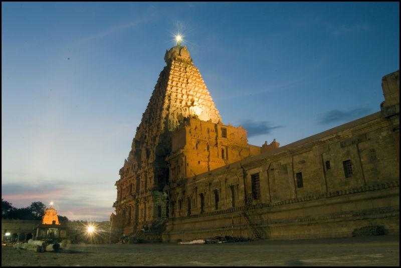 Sri Brihadeeswara Temple in Thanjavur