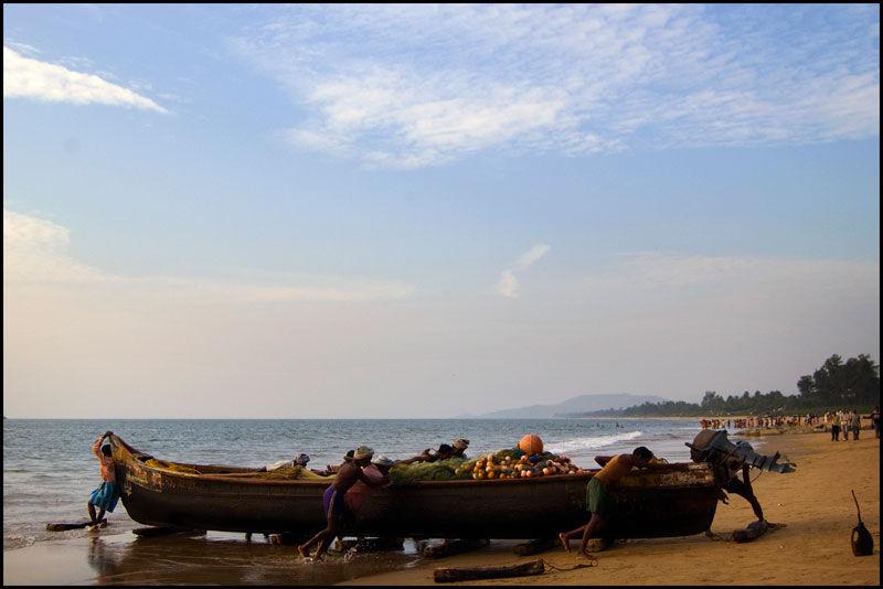 Fishing in Gokarna