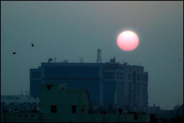 Chennai Sunset.