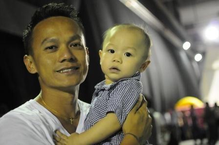 Elliot & Daddy...