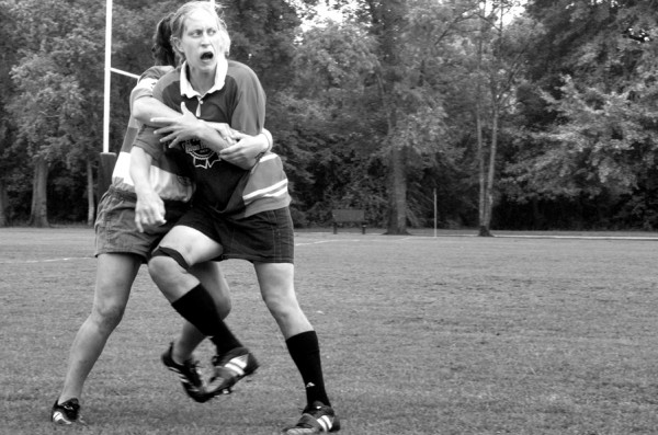 Womens Rugby Tackle