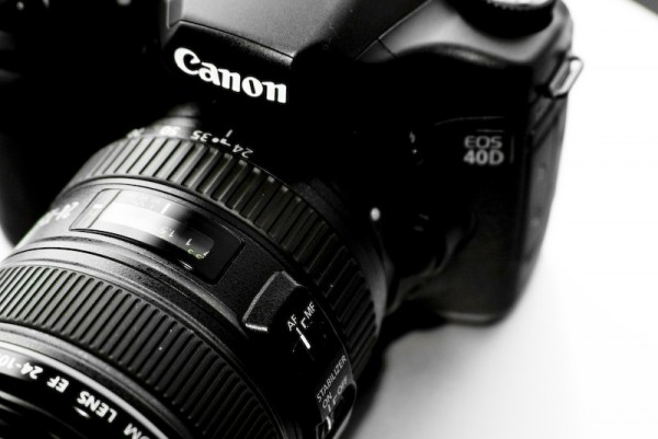 Canon 40D body and very happy