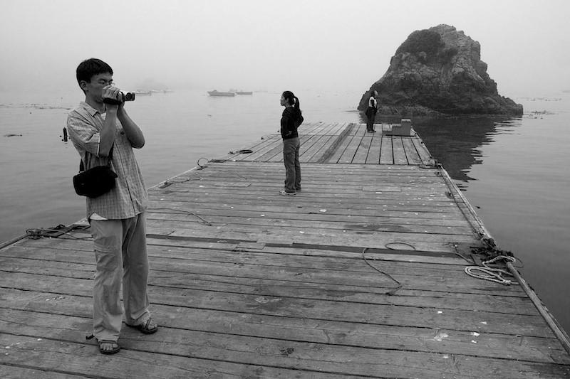 Friends At Trinidad Pier