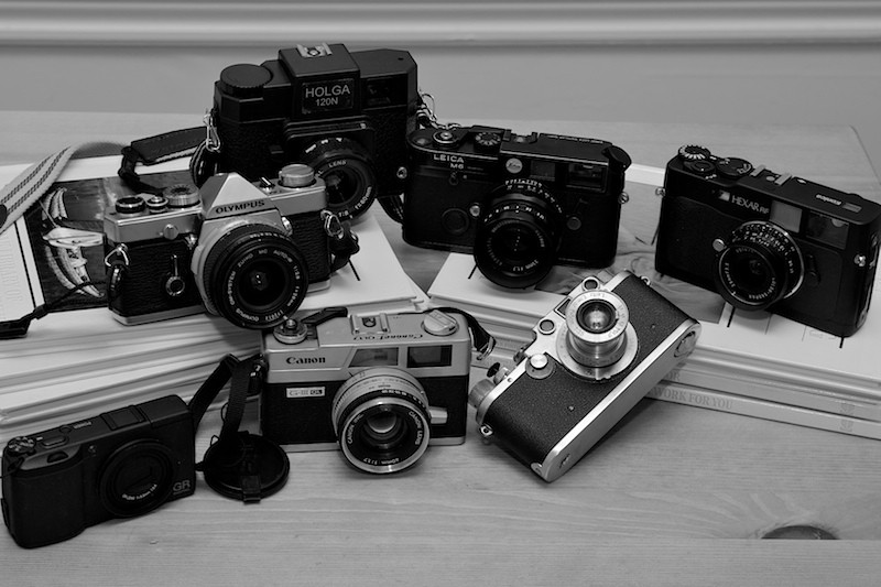 My Camera Collection As Of Sep. 23, 2008